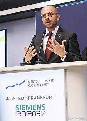 Christian Bruch, Vorstandsvorsitzende Siemens Energy  - Frankfurt/Main, APA/dpa