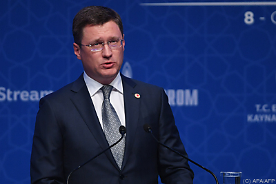 Russalnds Energieminister Alexander Novak  - Istanbul, APA/AFP
