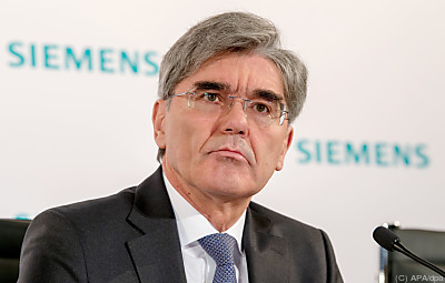 Noch-Siemens-Vorstandsvorsitzender Joe Kaeser  - München, APA/dpa