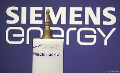 Siemens Energy an der Frankfurter Börse  - Frankfurt/Main, APA/dpa