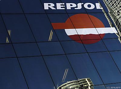 Repsol-Niederlassung in Madrid  - Madrid, APA/AFP