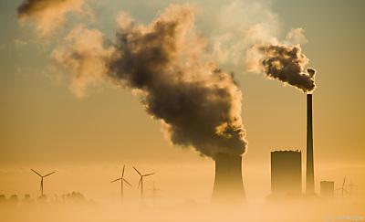 Schlot eines Kohlekraftwerks  - Hohenhameln, APA/dpa