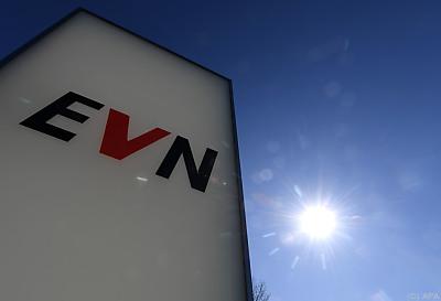 EVN-Logo bei Hauptqurtier in Maria Enzersdorf  - Maria Enzersdorf, APA