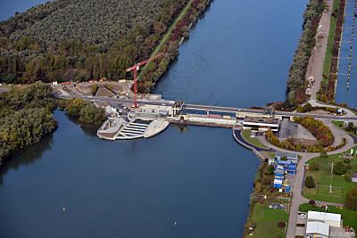 Wasserkraftwerk am Rhein  - Iffezheim, APA/dpa
