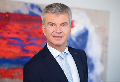 Energie AG-Vorstand Werner Steinecker  - Linz, ENERGIE AG