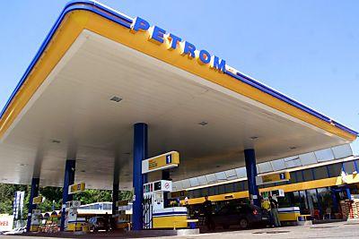 Eine Tankstelle des Petrom-Konzerns  - Bukarest, APA
