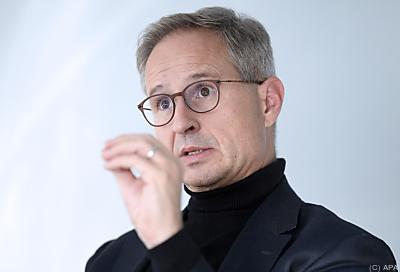 Alfred Stern, Borealis-CEO  - Wien, APA