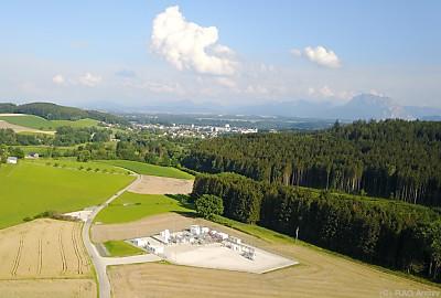 Am RAG-Forschungsstandort in Pilsbach (OÖ) laufen Feldversuche  - Pilsbach, RAG Archiv