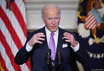 Joe Biden fährt neue Klimalinie  - Washington, APA/AFP