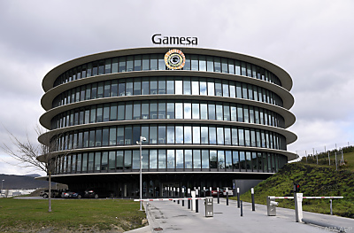 Gamesa-Hauptquartier in Spanien  - Sarriguren, APA/AFP
