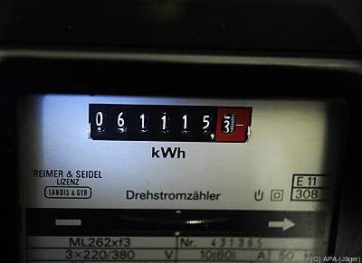 Kälte erhöhte Energieverbrauch  - Wien, APA (Jäger)