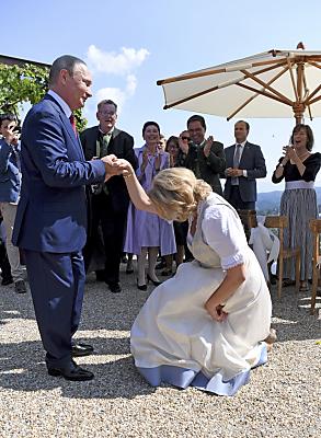 Ehemalige Außenministerin hatte wiederholt Kontakt zu Wladimir Putin  - Gamlitz, APA (Schlager)