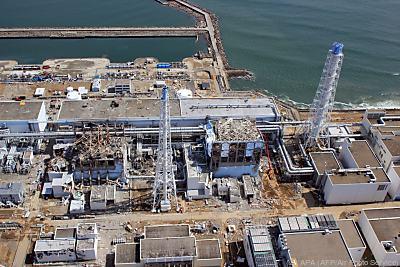 Ein Tsunami löste die Reaktorkatastrophe von Fukushima aus  - Okuma, APA (AFP/Air Photo Service)