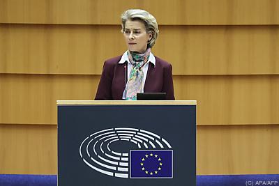 EU-Kommissionspräsidentin Ursula von der Leyen  - Brussels, APA/AFP