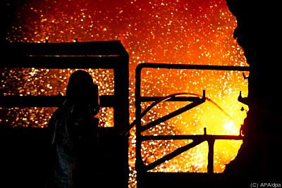 Mit Windstrom zu CO2-sauberem Stahl - Salzgitter, APA/dpa
