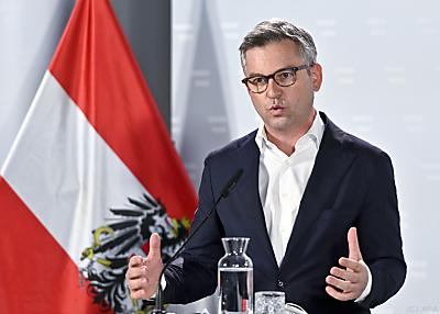Staatssekretär Magnus Brunner  - Wien, APA