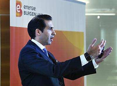 Energie Burgenland-CEO Stephan Sharma  - Eisenstadt, APA