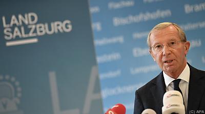 Aufsichtsrats-Vorsitzender LH Wilfried Haslauer  - Salzburg, APA