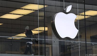 Das Apfel-Logo  - Munich, APA/AFP