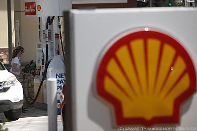 Shell-Tankstelle in den USA  - San Rafael, APA/GETTY IMAGES NORTH AMERICA