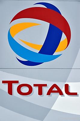 Logo von Total  - Donges, APA/AFP