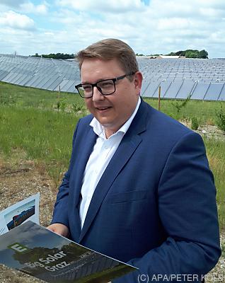 E-Steiermark Vorstand Martin Graf  - Silkeborg, APA/PETER KOLB