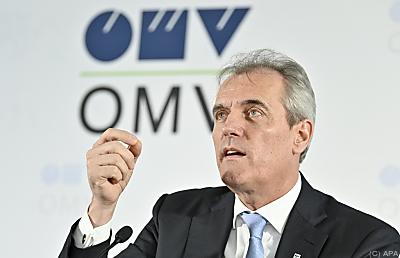 OMV-Chef Rainer Seele  - Wien, APA