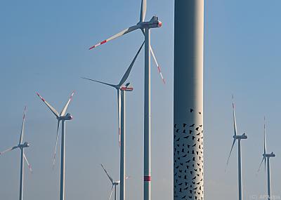 Windenergie derzeit nur mit Schwachwind  - Jacobsdorf, APA/dpa