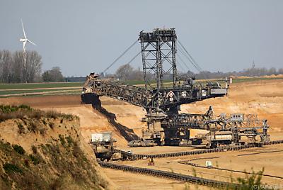 Kohle-Tagebau in Deutschland  - Erkelenz, APA/dpa