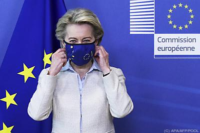 Ursula von der Leyen  - Brussels, APA/AFP/POOL