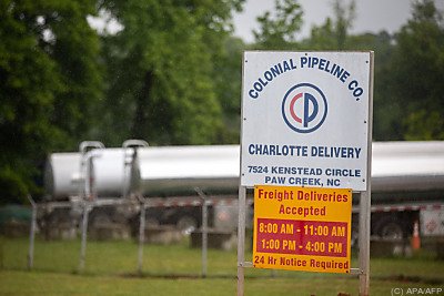 Ein Tanklager der Colonial Pipeline in North Carolina  - Charlotte, APA/AFP