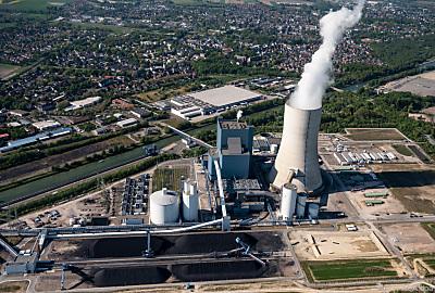 Das Kohlekraft Datteln 4 in Deutschland  - Datteln, APA/dpa