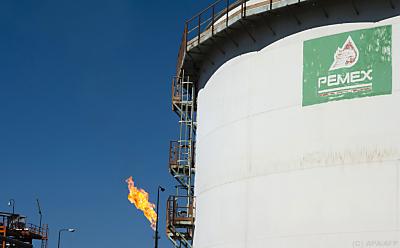 Der mexikanische Ölkonzern ist stark verschuldet  - TULA, APA/AFP