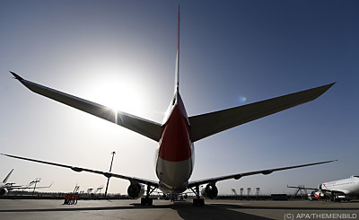 Luftfahrt will umfreundlicher werden  - Schwechat, APA/THEMENBILD