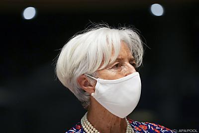EZB-Präsidentin Christine Lagarde  - Luxembourg, APA/POOL