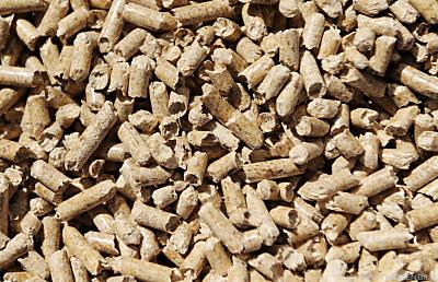 Auch mit pellets wird vermehrt geheizt  - St