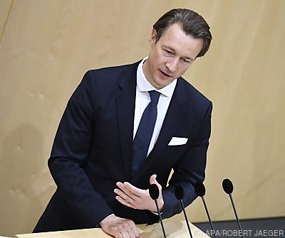 Finanzminster Gernot Blümel  - Wien, APA/ROBERT JAEGER