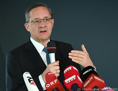 Flughafen-Vorstand Günther Ofner  - Schwechat, APA/HELMUT FOHRINGER