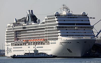MSC Cruises will bis 2050 einen CO2-neutralen Betrieb erreichen  - Warnemünde, APA (dpa/Archiv)