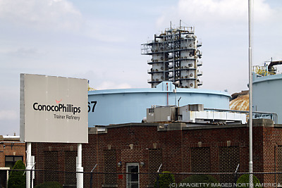 Ein ConocoPhillips-Raffinerie  - Marcus Hook, APA/GETTY IMAGES NORTH AMERICA