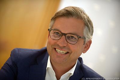Staatssekretär Magnus Brunner  - Wien, APA/HERBERT PFARRHOFER