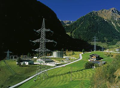 Transalpine Ölleitung - Pumpstation in Gruben  - Matrei in Osttirol, TAL