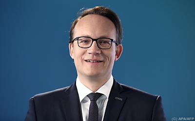 RWE-Vorstand Markus Krebber  - Essen, APA/AFP