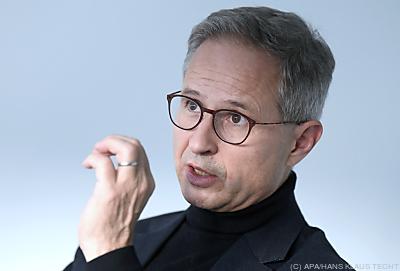 Alfred Stern leitet die OMV  - Wien, APA/HANS KLAUS TECHT