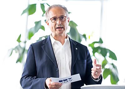 OMV-CEO Alfred Stern  - Wien, APA/GEORG HOCHMUTH