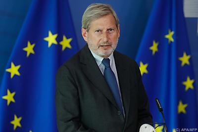 Budgetkommissar Hahn präsentierte Rahmenbedingungen  - Brussels, APA/AFP