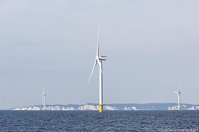 Eine Offshore-Windanlage  - Borre, APA/Ritzau Scanpix