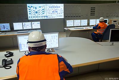 Kontrollraum eines Kernkraftwerks  - Mochovce, APA/AFP