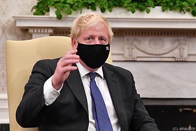 UK-Premier Boris Johnson  - Washington, APA/AFP
