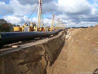 Bau einer Gaspipeline  - Perg, APA/HABAU/PPS